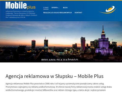 Mobile-Plus.pl reklama SÅ'upsk