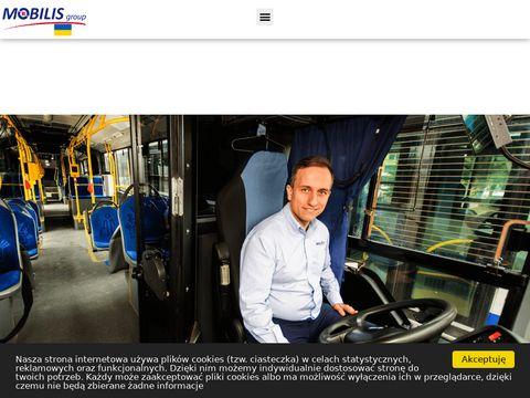 Przewozy pasażerskie, wynajem autokarów, bilety autobusowe