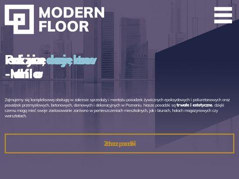 Posadzki dekoracyjne - modernfloor.pl