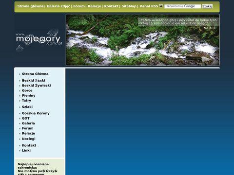 MOJE GÓRY wszystko o górach-noclegi, schroniska, relacje, forum, galerie, mapy