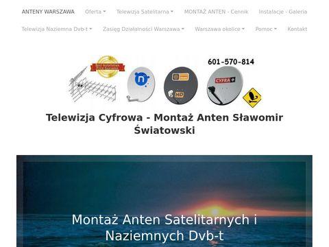 Montaż Anten - Sulejówek,Wesoła,Wołomin,Białołęka,Kobyłka,Ząbki,