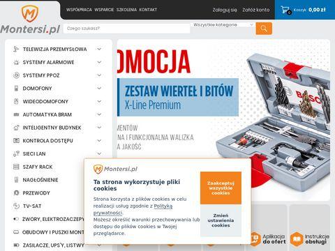Telewizja przemys艂owa - www.montersi.pl