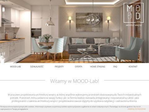 Architekt wnÄ™trz Warszawa - Projektant wnÄ™trz - www.Mood-LAB.pl