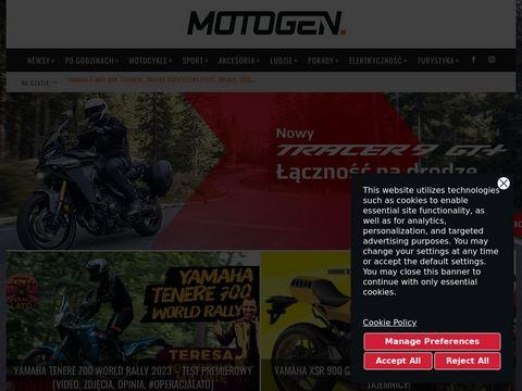 Portal Motogen.pl - internetowa przystań dla miłośników motocykli