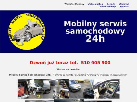 Mobilny Serwis Samochodowy, pomoc drogowa warszawa