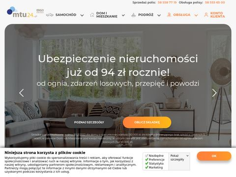 Ubezpieczenia auta, OC, AC, online – mtu24.pl