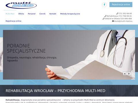 Rehabilitacja i masaż Wrocław