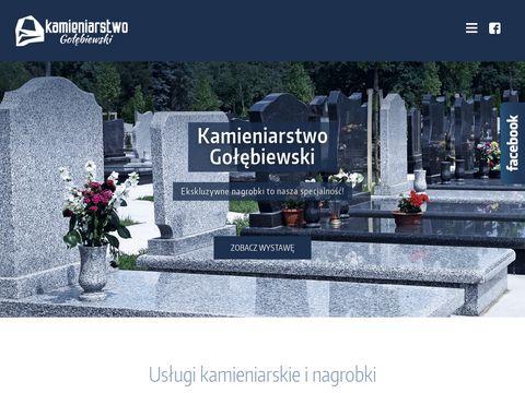 Nagrobki, pomniki, blaty i schody granitowe. Kamieniarstwo Warszawa.