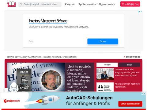 Opinie o książkach | www.nakanapie.pl