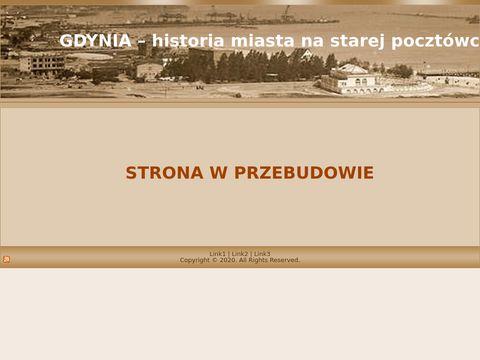 Gdynia historia miasta na starej pocztówce