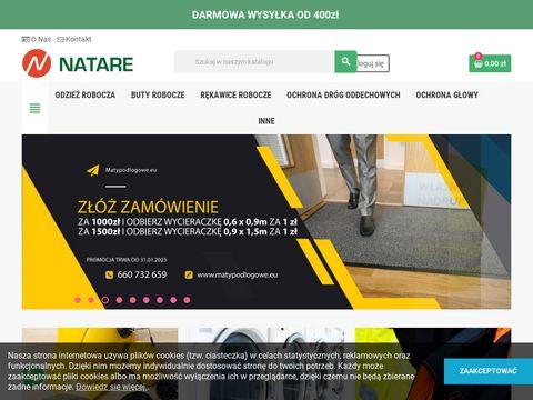 odzież robocza Natare bhp rękawice półmaski