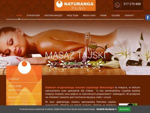 Masa偶 tajski - naturanga.pl