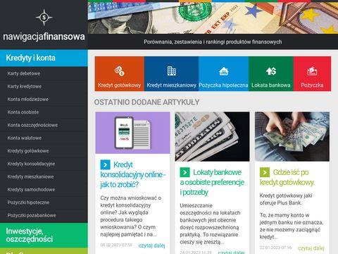 Por贸wnanie lokat w bankach - nawigacjafinansowa.pl/lokaty-bankowe