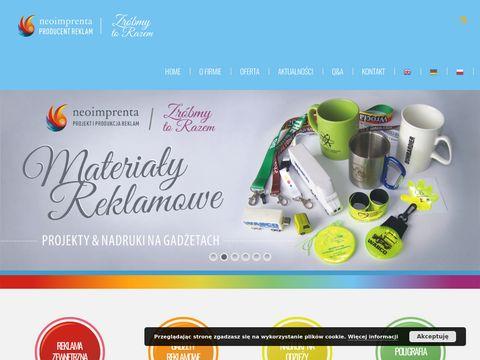 Neo-Imprenta studio promocji i reklamy Wroc艂aw