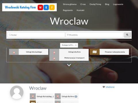 Wrocław i Biznes, Wrocławski Katalog Firm, handel,