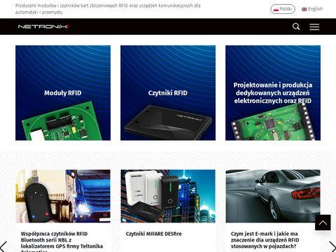 Netronix sp. z o.o. - producent czytników RFID