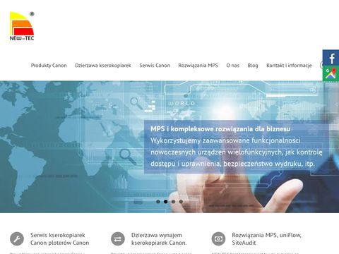 New Technology - dzierżawa i sprzedaż urządzeń wielofunkcyjnych