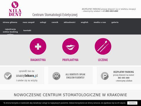 Gabinet stomatologiczny Kraków - niladent.com