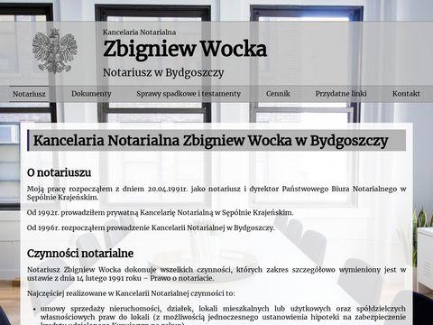Kancelaria Notarialna Zbigniew Wocka - Bydgoszcz