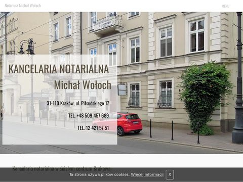 KANCELARIA NOTARIALNA MGR MAGDALENA CHLANDA umowy notarialne kraków