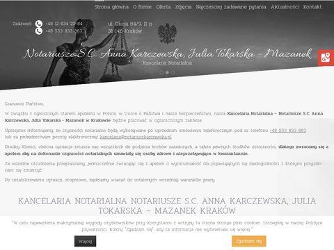 A. KARCZEWSKA notariusze kraków