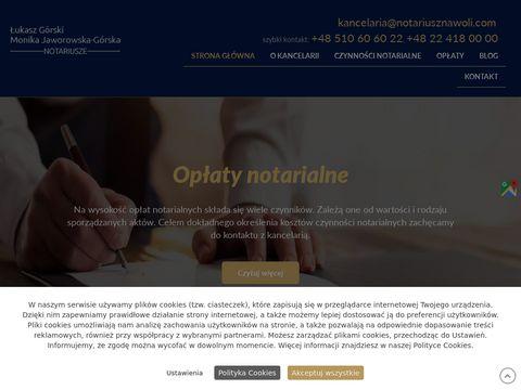Notariusznawoli.com