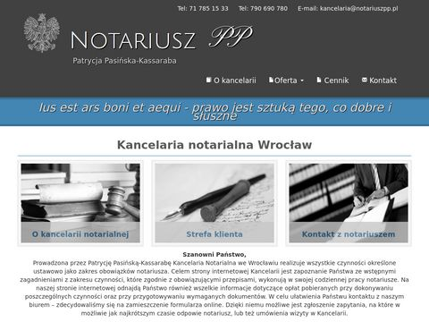 Notariusz Wrocław - notariuszpp.pl