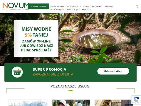 Novum Katowice, kostka brukowa, projektowanie ogrod贸w