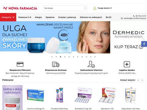 NowaFarmacja.pl - apteka wysyłkowa