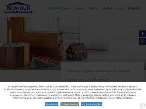 Nowbud-klimczyk.com.pl aluminium radomsko
