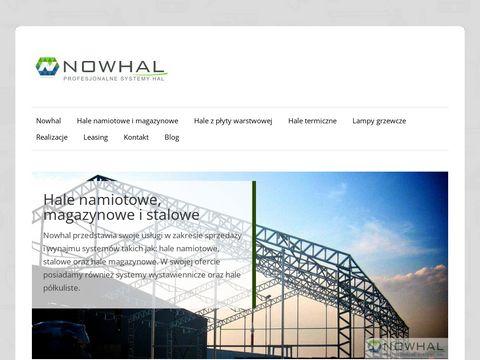 Nowhal | Hale namiotowe, Szczecin