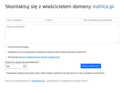 Nutrico Polska - Polewy