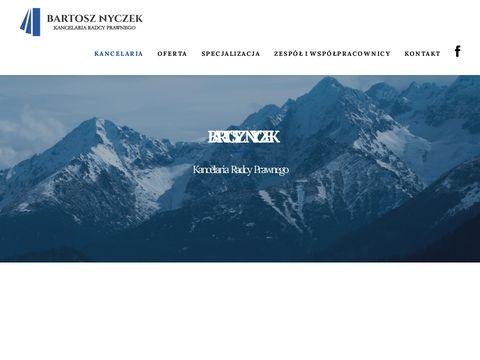 Kancelaria radcy prawnego - Bartosz Nyczek