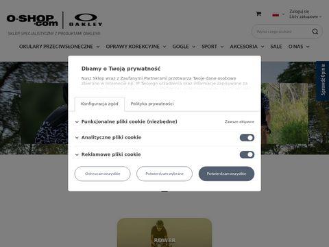 Oakley gogle, okulary, zegarki - butik Warszawa