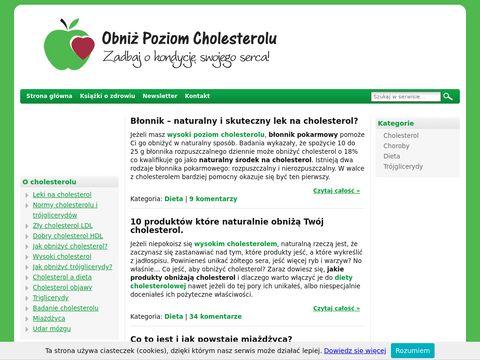 Trójglicerydy - www.obnizcholesterol.pl