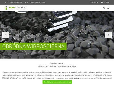 Obróbka wibrościerna - Euro Solutions