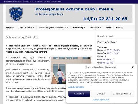 Agencja ochrony osób i mienia PORTOS