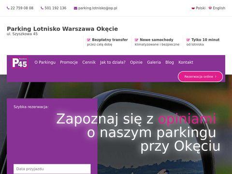 Parking Ok臋cie - odlotowyparking.pl