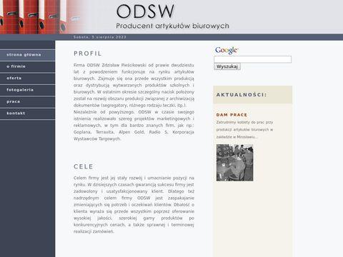 ODSW Producent artykułów biurowych