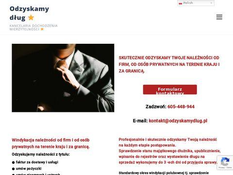 Odzyskamydlug.pl