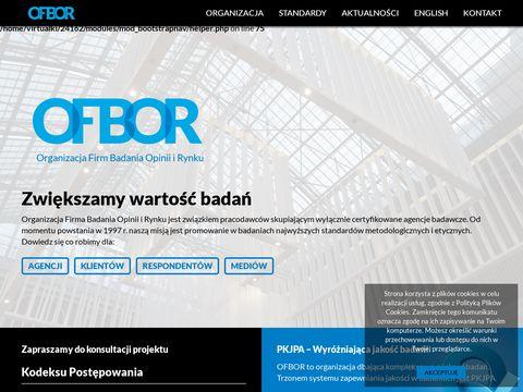 Organizacji Firm Badania Opinii i Rynku