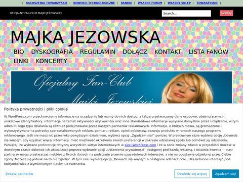 OFICJALNY Fan-Club Majki Jeżowskiej