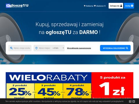 Og艂oszenia za darmo - ogloszetu.pl