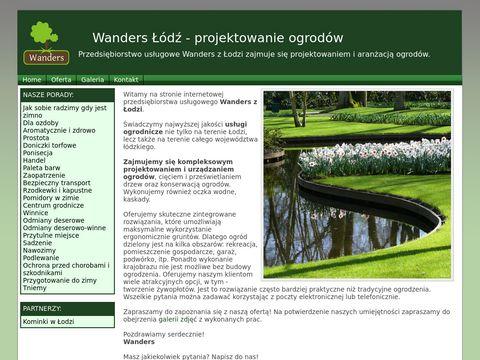 Wanders �ódź - projektowanie ogrodów