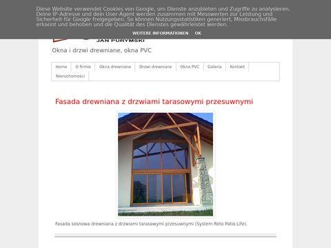 Okna drewniane, drzwi drewniane - PPU STOLDREW