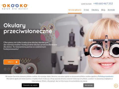 OKO OKO optycy dla dzieci 艂贸d藕
