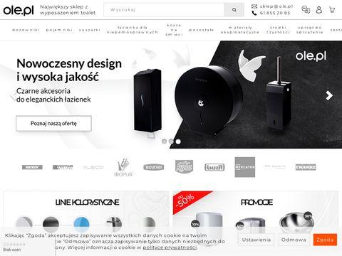 Ole.pl Sklep internetowy z wyposa偶eniem sanitarnym