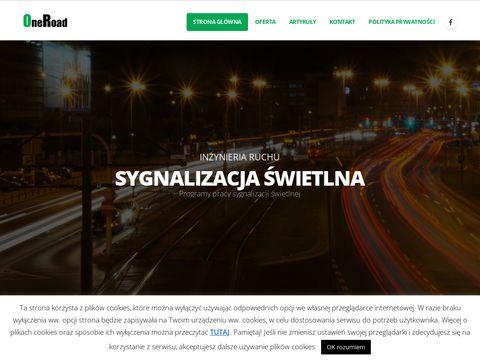 Symulacje ruchu drogowego - OneRoad