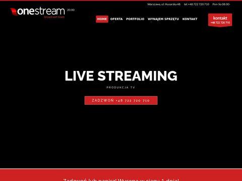 Transmisje live HD