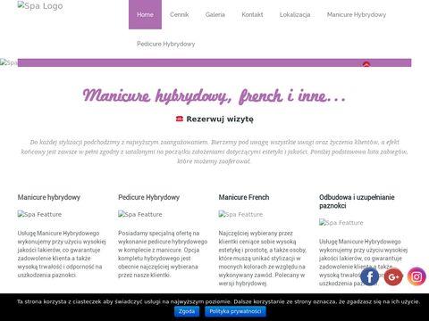 Paznokcie hybrydowe - onlynails.pl